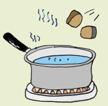 Приготовление напитка чаги в походных условиях